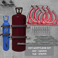 Gas Bottle Holder Oxy Acetylene  BOTTLECHOCK Australian Made Restraint System