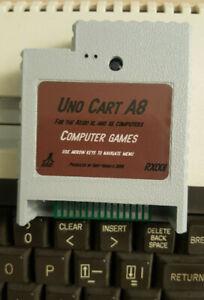 UnoCart Atari 800xl 130xe 65xe XEGS Sd cartridge rom