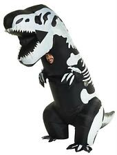ADULT SKELETON T REX DINOSAUR INFLATABLE HALLOWEEN COSTUME MHMCGITS