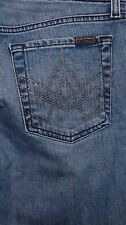 7 For All Mankind A Pocket Flare Studs Size 29