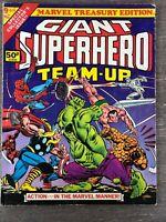 GIANT SUPERHERO TEAM-UP #9 MARVEL TREASURY EDITION 1976 BRONZE AGE