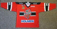 MODO Hockey (SHL) / 2009-2010? - MENS Ice-hockey Jersey / Shirt. Size: 7 (L-XL?)