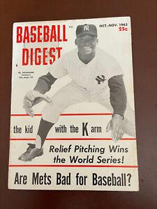 October/November 1963 Baseball Digest