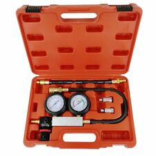 Cylinder Leak Tester Petrol Engine Compression Leakage Leakdown Detector Kits US