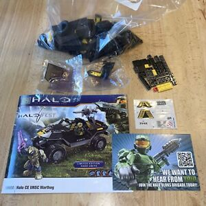 Halo Fest Exclusive Mega Bloks 99660 Halo CE UNSC Warthog-LE of 5000 Loose