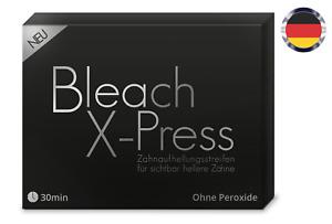 Whitestrips Bleachxpress Zahnweiß Zahnaufhellung Zahn Bleaching Set 28 St.
