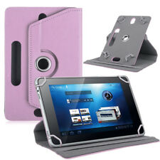 "360° Universal Folio Leather Flip Case Cover For Android Tablet PC 7"" 8"" 9"" 10"""