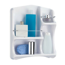 Aparador de baño 4 compartimentos Estante bañera Pared Badablage