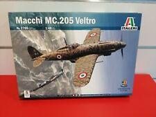Macchi MC 205 VELTRO Scala 1/48 kit italeri IT 2765 Aereo Guerra Mondiale