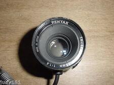"Pentax 25mm C Mount 1"" F 1.4 TV Lens"