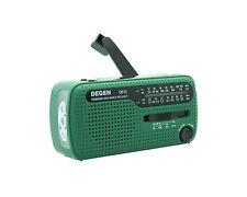 DEGEN DE13 DSP Survival Emergency Radio: Dynamo Cranker and Solar Power