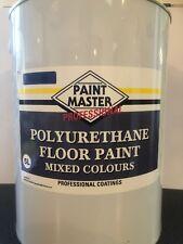 BLUE POLYURETHANE GARAGE/WORKSHOP FLOOR PAINT 5 LT