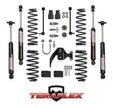 """TeraFlex 2.5"""" Suspension Lift Kit w/ 9550 Shocks for 07-17 Jeep Wrangler JK 2 Dr"""