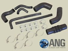 TRIUMPH TR4, TR4A RADIATOR WATER, COOLING RUBBER HOSES & CLIPS KIT