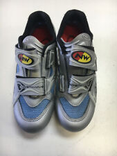 Northwave XSport Silver/Blue Womens 7.5 Used Biking Shoes