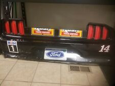 Clint Bowyer 2020 Rush Truck Center Nascar Race Used Sheetmetal Rear Bumper