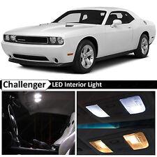 9x White Interior LED Lights Package Kit for 2008-2014 Dodge Challenger + TOOL