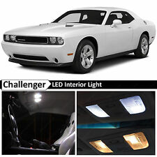 White Interior LED Lights Replacment Package Kit for 2008-2014 Dodge Challenger