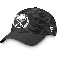 Buffalo Sabres Fanatics Branded H2O Military Appreciation Adjustable Hat - Black