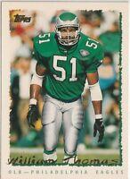 William Thomas Eagles / Texas A&M OLB 1995 Topps Card # 44