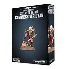 Warhammer 40K Adeptus Ministorum Canoness Veridyan New