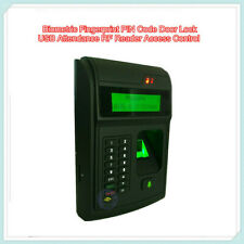 Biometric Fingerprint Pin Code Door Lock Usb Attendance Rf Reader Access Control