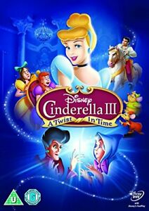 Cinderella 3: A Twist In Time [DVD] [2017][Region 2]