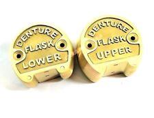 Premium Brass Dental Denture Upper Amp Lower Flask New Lab Professional Original