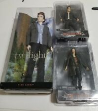NECA TWILIGHT ECLIPSE SET OF 2 EDWARD & Victoria with a pink label edward barbie