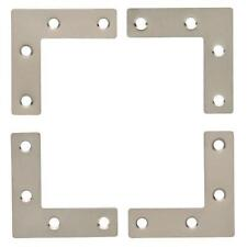 Young House Love P31127C-SN Campaign Hardware Corners Satin Nickel 4 Pack