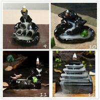 Sandalwood Cones Backflow Censer Craft  Incense Burner Holder new