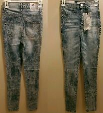 Junior's Almost Famous size 1 acid wash Skinny Jeans