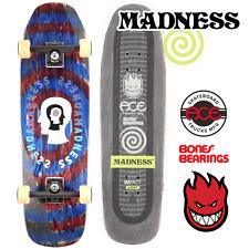 "Madness Skateboards 9"" Split Personality Impact Pro Complete Ace Reds Spitfire"