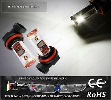 LED SMD H11 Xenon White 6000k Daytime Running Lights Fog Bulbs Truck HGV 12V 24V