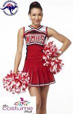 Cheerleader High School Musical fancy Dress Costume Glee Size 6 - 18 AU