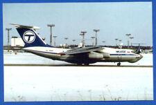 Tesis Airlines IL-76 Postcard