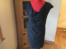 BEAUTIFUL PARTY LOVE MOSCHINO DRESS WITH SILVER STUDS AT THE FRONT SIZE 46/14