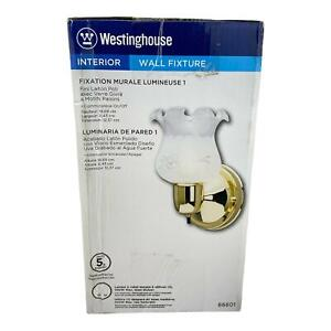 NEW Westinghouse One-Light Interior Wall Fixture with On/Off Switch