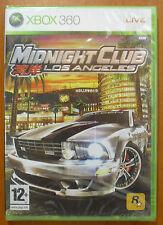 Midnight Club: Los Angeles, Xbox 360, Pal-España ¡NUEVO Y PRECINTADO A ESTRENAR!