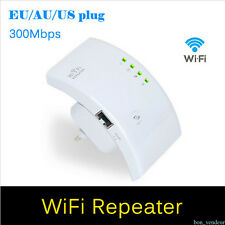 300Mbps Wireless Internet Wifi Router Repeater Extender Booster Tablet Laptop ja