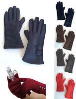 Women Winter Warm Suede Gloves Touch Screen Outdoor Sport Ski Gloves Mittens