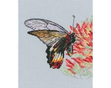 RTO Counted Cross Stitch Kit - Nectar for a Butterfly - Butterfly on a flower