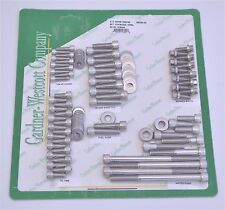 GW 10-56461-HSP Polished Stainless Steel Chevy SB V8 Bowtie Header Bolt Kit
