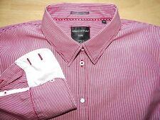 Marc O`Polo CORE ELLA Bluse Damen Gr.42 gestreift weiß rot langarm  Top Zustand