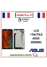 ECRAN COMPLET, ECRAN LCD +VITRE TACTILE NOIR ASUS ZENFONE 2 ZE600KL Z00MD