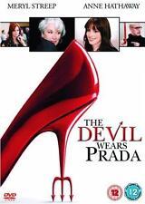 THE DEVIL WEARS PRADA Meryl Streep*Anne Hathaway*Emily Blunt Comedy DVD *EXC*