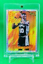 David Robinson 1996-97 Topps Basketball Silver Shimmer Refractor Rare Insert NBA