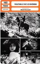 FICHE CINEMA : ROULETABILLE CHEZ LES BOHEMIENS - Gravone,Fescourt 1922