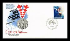 DR JIM STAMPS 20 + 5 MONTREAL OLYMPIC GAMES FDC CANADA UNSEALED COVER
