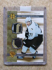 06-07 UD Ultimate Debut Threads RC Rookie EVGENI MALKIN Dual Patch /25
